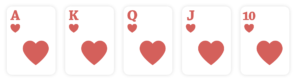 straight flush, poker hands ranking
