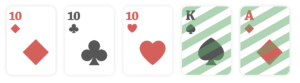 Three of a Kind, poker hands ranking