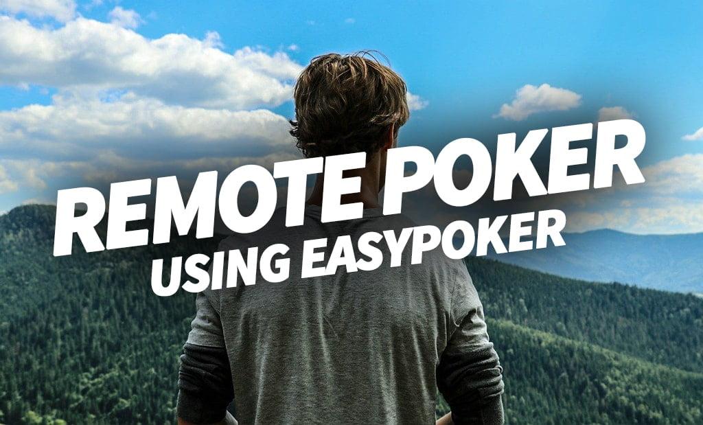 Remote Poker App - EasyPoker