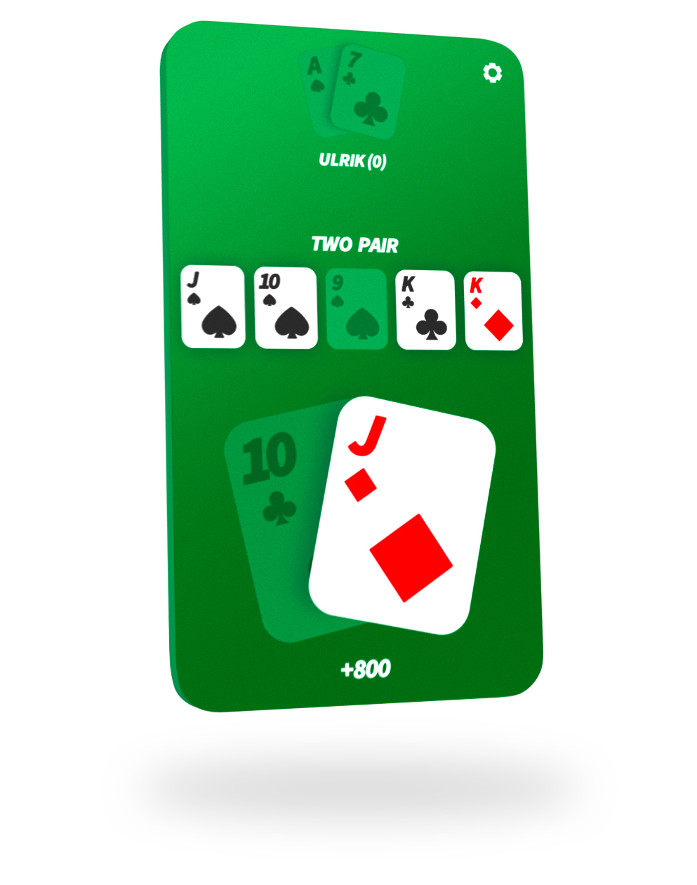Private table poker app